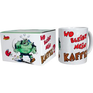 "MOTOmania Tasse ""Wo bleibt mein Kaffee?"""