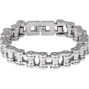 Spirit Motors Edelstahl Armband 1.0 silber