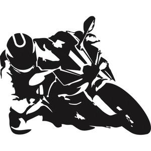 POLO Aufkleber Supersportler 01 8 x 6,3 cm schwarz