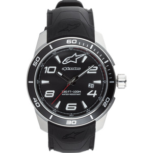 Alpinestars Armbanduhr Tech Watch 3H White2