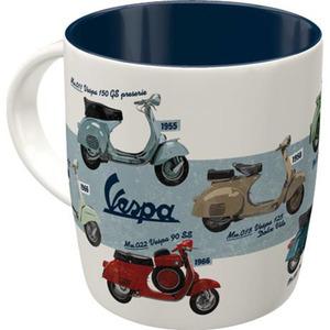 """Nostalgic-Art Tasse """"Vespa - Model Chart"""" 330 ml"""