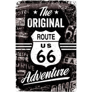 "Nostalgic-Art Blechschild 20 x 30 ""Route 66 The Original Adv"