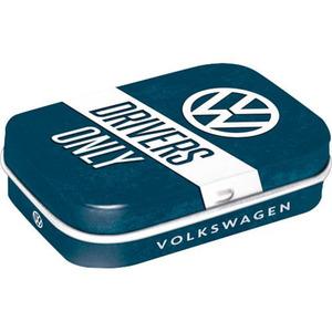 "Nostalgic-Art Pillendose ""VW Drivers Only"""