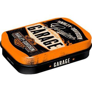 Nostalgic-Art Pillendose Harley-Davidson Garage