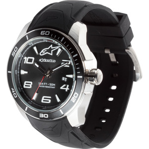 Alpinestars Armbanduhr Tech Watch 3H White