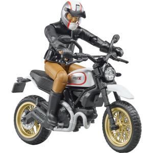 Bruder Scrambler Ducati Desert Sled mit Fahrer
