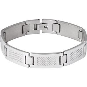 Spirit Motors Edelstahl Armband 2.0 silber