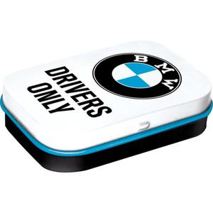 Nostalgic-Art Pillendose BMW - Drivers Only