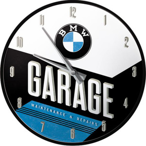 Nostalgic-Art Wanduhr BMW - Garage