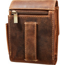 Bild 2 von Spirit Motors Vintage Leder Gürteltasche für Zigarettenschac braun
