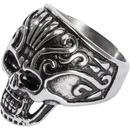 Bild 1 von Spirit Motors Edelstahl Ring mit Totenkopf 2.0