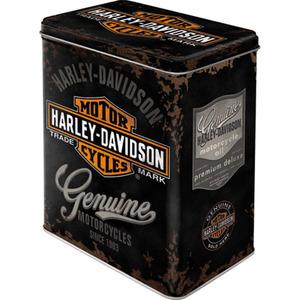 "Nostalgic-Art Vorratsdose L ""Harley-Davidson Genuine Logo"""