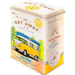 "Nostalgic-Art Vorratsdose L ""VW Bulli-Let´s Get Away"""