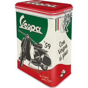 "Nostalgic-Art Vorratsdose Clip Top ""Vespa - The Italian Clas"