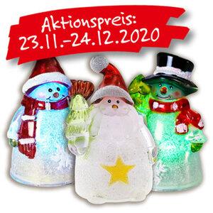 Weihnachts-Leuchtfiguren mit LED-Licht