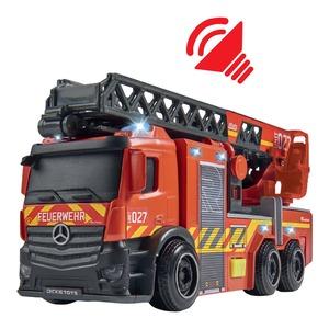 Dickie Feuerwehrauto mit Drehleiter, ca. 23cm