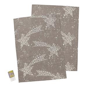 Geschirrtuch mit Sternen-Design, 50x70cm