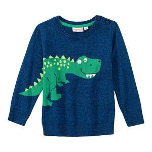 Baby-Jungen-Pullover mit Dino-Motiv