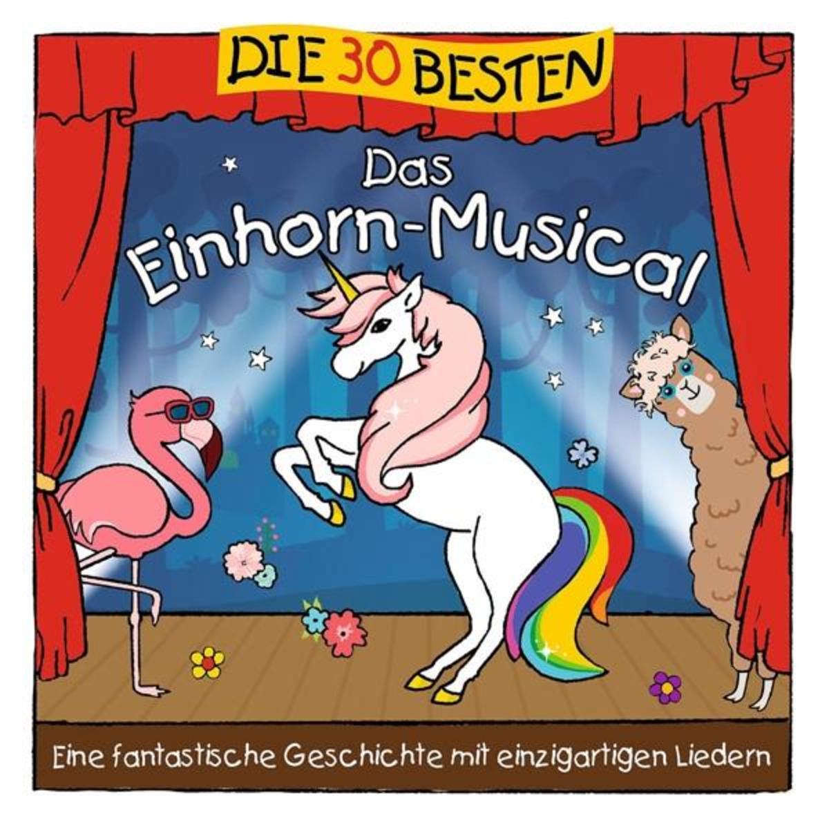 Bild 1 von Die 30 Besten: Das Einhorn-Musical Sommerland,S./Glück,K.& Kita-Frösche,Die auf CD online