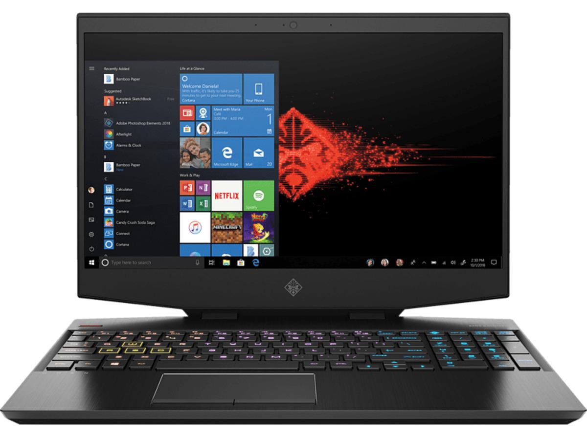 Bild 2 von HP OMEN 15-dh0301ng, Notebook mit 15.6 Zoll Display, Core™ i7 Prozessor, 16 GB RAM, 1000 GB HDD, 256 GB SSD, NVIDIA® GeForce® GTX 1660 Ti, Schwarz