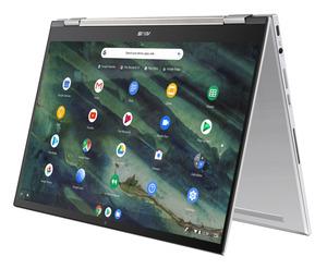 ASUS Chromebook Flip C436 (C436FA-E10029), Chromebook mit 14.0 Zoll Display, Core™ i5 Prozessor, 8 GB RAM, 512 GB SSD, Intel® UHD Graphics, Transparent Silver