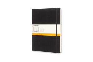 MOLESKINE XL, liniert, Hard Cover, Schwarz Notizbuch, Schwarz