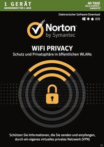 Norton Wifi Privacy 1U/1 DEV/1 Jahr (Online)
