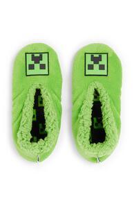 """Grüne """"Minecraft"""" Slipper für Jungen"""