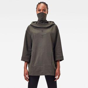 Oversized Hood Cover Sweatshirt