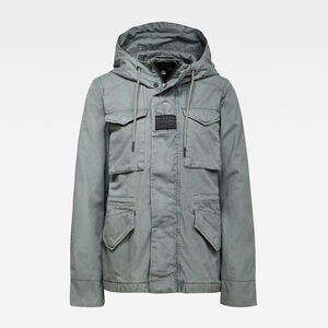 Short Hooded Field Parka