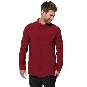 Jack Wolfskin JWP LS Shirt Men Langarm-Funktionsshirt Männer L rot dark lacquer red