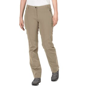 Jack Wolfskin Drake Flex Pants Women Hose Frauen 21 braun sand dune