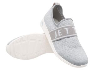 JETTE Damen Slip-on Sneaker, grau