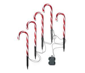 5 LED-Zuckerstangen