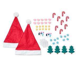 DIY-Weihnachtsmützen-Set