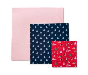 Stoff-Geschenkpapier
