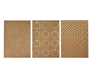 Kraftpapier-Set