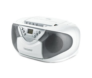 Boombox mit Radio, CD- und Kassettenlaufwerk