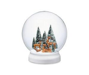 LED-Outdoor-Schneekugel