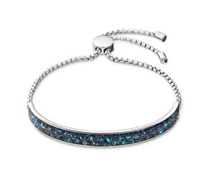 Armband mit funkelnder Kristalleinlage
