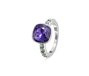 Ring veredelt mit Kristallen von Swarovski®