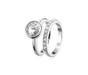 Ringe veredelt mit Kristallen von Swarovski®
