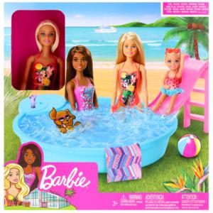 Barbie mit Pool