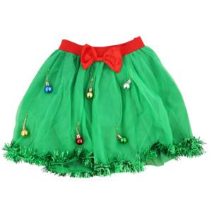 Tüllrock mit Weihnachtskugeln