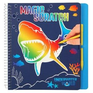 Dino World Magic Scratch Book Unterwasser