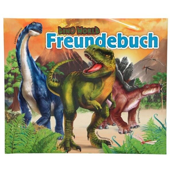 Dino World Freundebuch