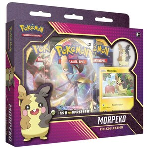 Pokemon Relaxo/Morpeko Pin Collection Set sortiert