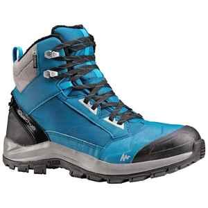 Winterschuhe Winterwandern SH520 X-Warm Wasserdicht Halbhoch Herren blau