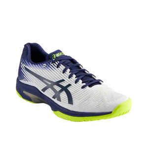 Tennisschuhe Gel Solution Speed FF Multicourt Herren weiss/blau