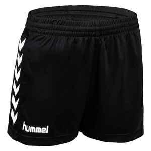 Handballshorts Core Damen schwarz/weiss